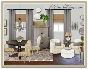 DebraM Dining Room Design Board-1