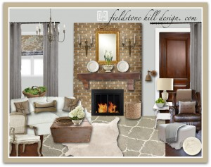 DebraM Living Room Design Board-1