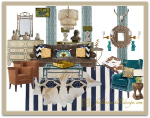 EdieW Living Room Design Board-1