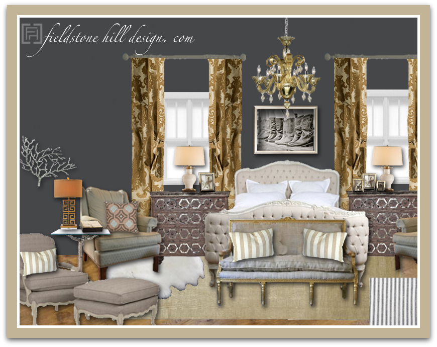 Ordinary Home Design Vision Board Part - 9: EdieW Master Bedroom Design Board-1