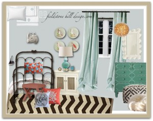 FHD EdieW Girls' Room Design Board-1