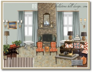 SarahW Great Room Design Board-1