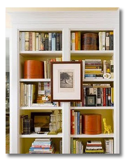 Um. In The Photo Above, I Want Those Books As Badly As The Bookshelf Display !