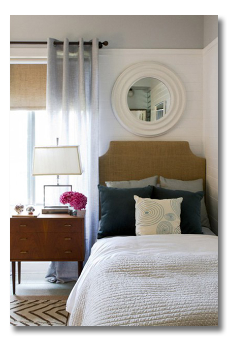 A Room I Love :: A Simple Bedroom Nook With Great