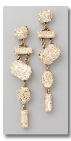 smoke mirrors earrings