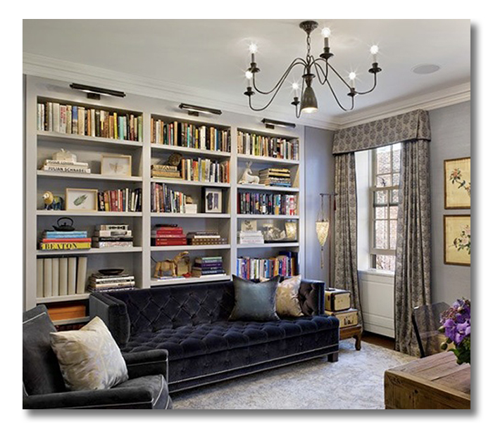 A Room I Love Row house Library Office Combo