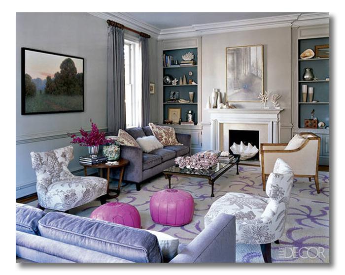 cool toned living room