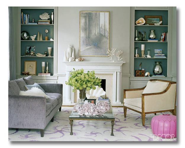 cool toned living room