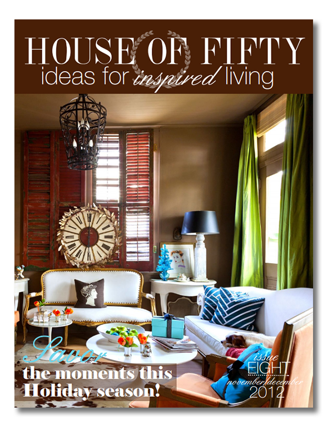 House of Fifty Holiday Issue