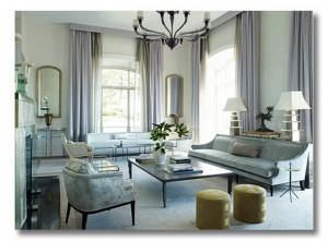 ice cool interiors - ditto this room {via Fieldstone Hill Design}