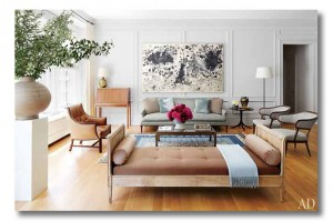 nina garcia breathtaking nyc apartment {via fieldstonehilldesign.com}