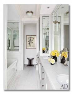 nina garcia breathtaking nyc apartment {via fieldstonehilldesign.com}