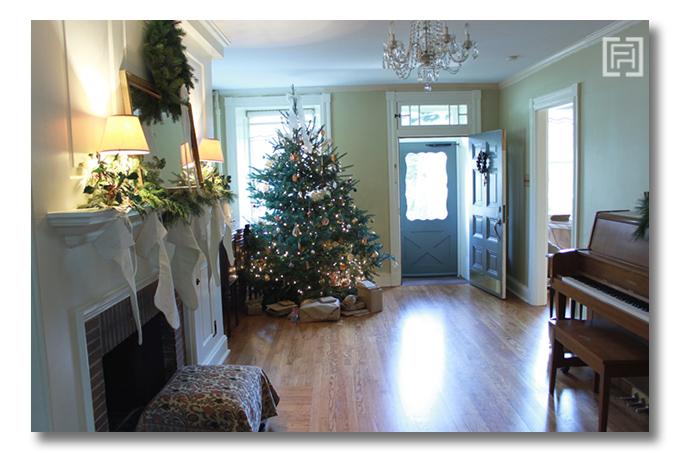 Christmas tour Fieldstone Hill Design