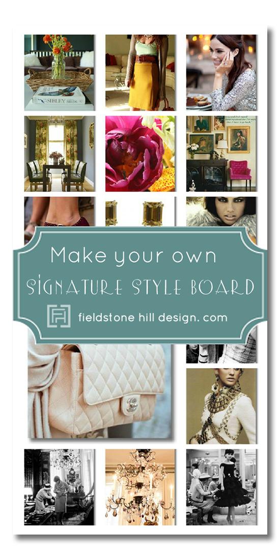 signature style board