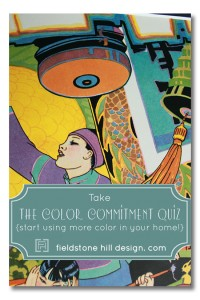 Take the Color Commitment Quiz at FieldstoneHillDesign.com
