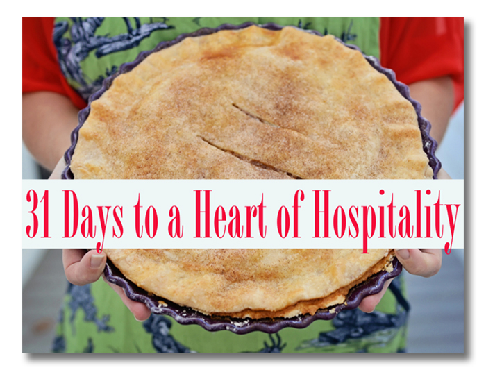 31 Days of Hospitality ebook by Edie of Life In Grace