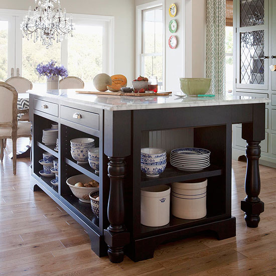 Kitchen Islands With Storage: The Hunt For Edie BHG Pics {I Need Your Help