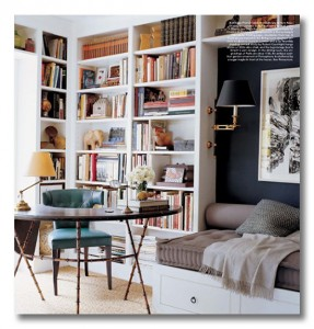 library school room inspiration for Fieldstone Hill Design