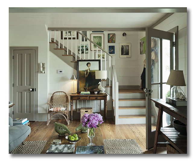 farmhouse-lovely entryway
