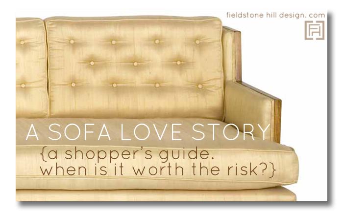 a sofa love story