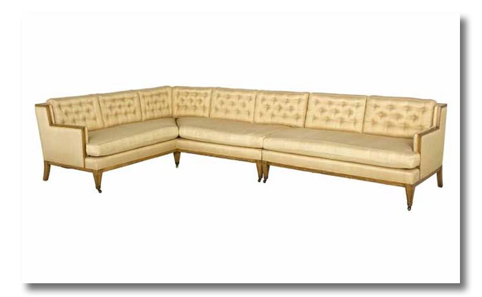 vintage silk sectional 1959 - a sofa love story3
