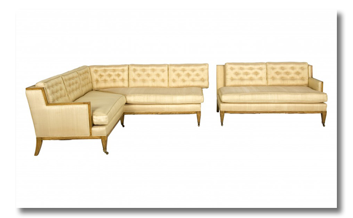 vintage silk sectional 1959 - a sofa love story4
