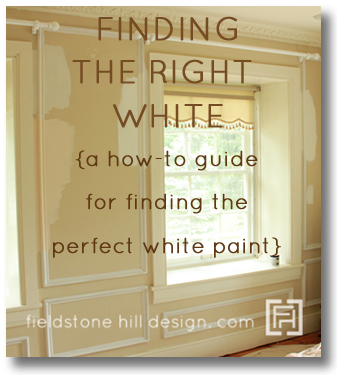 Finding the Right White