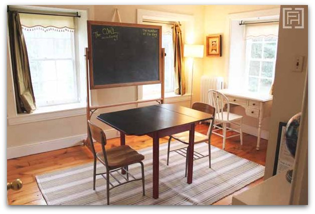 school room - fieldstone hill design