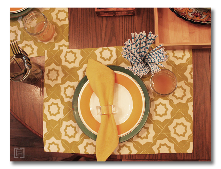 ugly duckling place setting