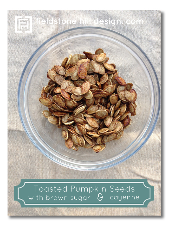pumpkin seeds brown sugar and cayenne
