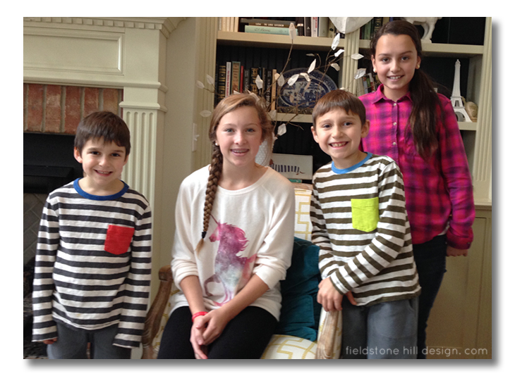 Edie's house kids