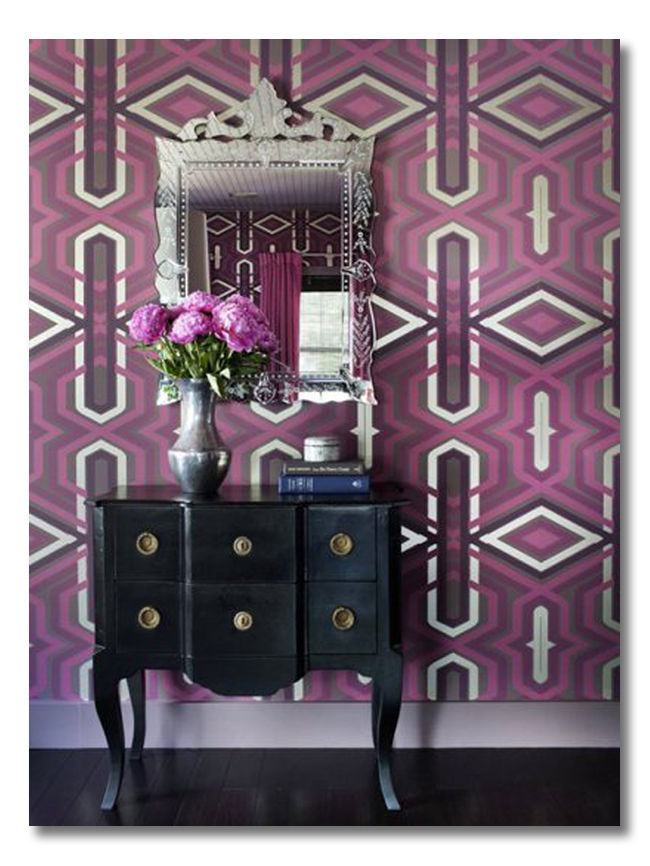 decorating with Radiant Orchid1