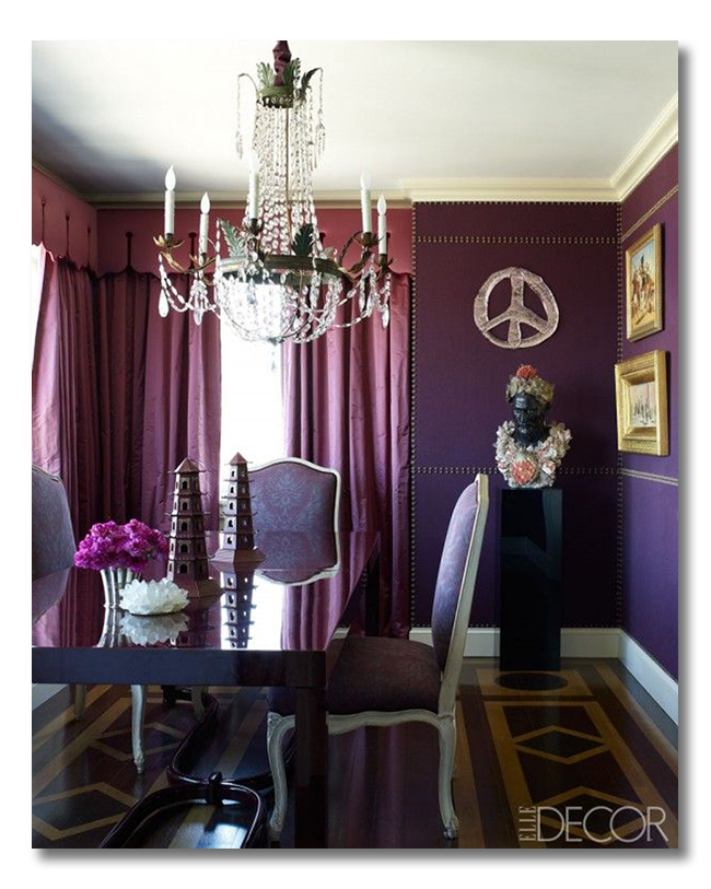decorating with Radiant Orchid 3