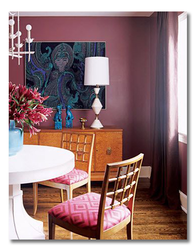 decorating with Radiant Orchid