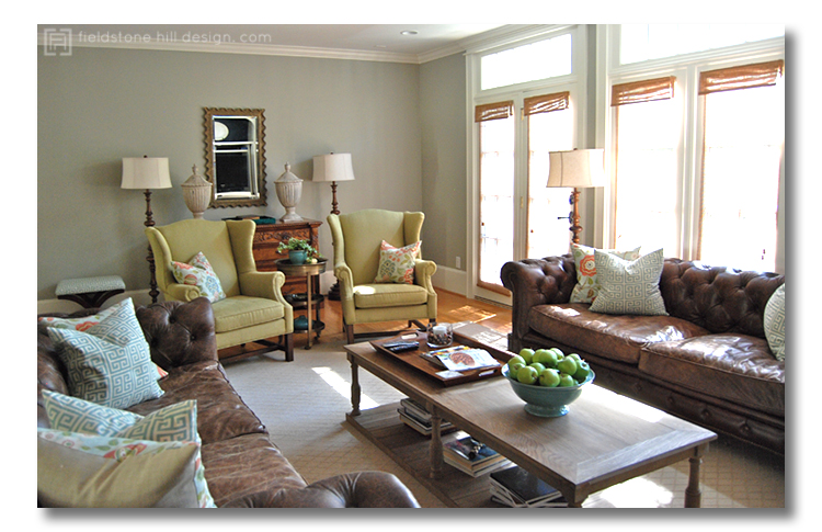 RichellaP living room2, design by Fieldstone Hill Design