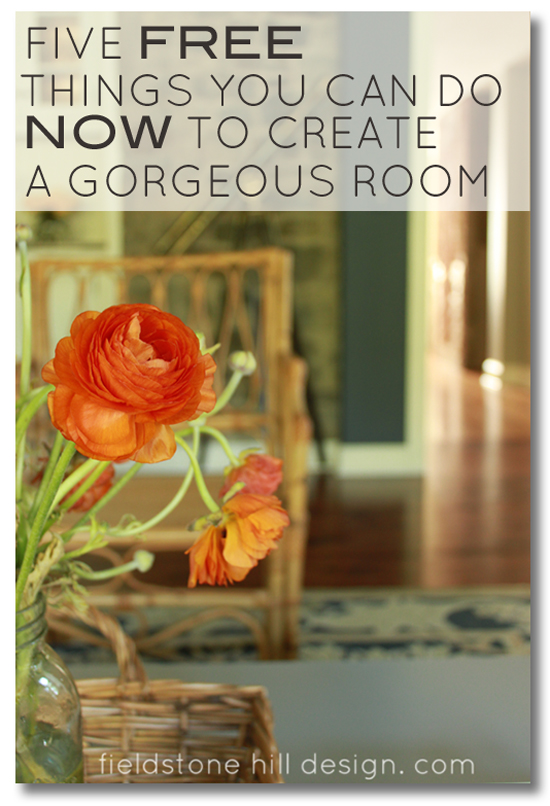 Five free things you can do now to create a gorgeous room for Room decor you can make