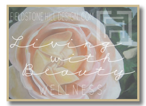 Living with Beauty button-WELLNESS