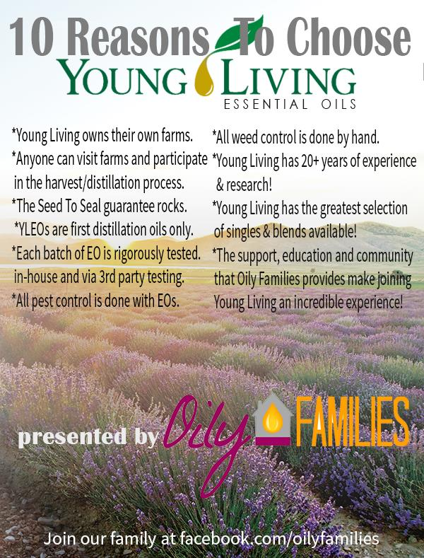 10 reasons to choose Young Living oils Fieldstone Hill Design 1413674