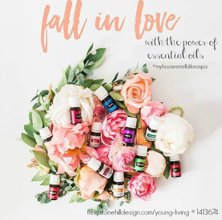 LOVE this plant and oil goodness!! True love? Yep! Fall in Love with essential oils. via @fieldstonehill 1413674