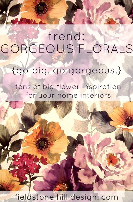 Gorgeous grandma floral design roundup via Fieldstone Hill Design