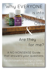 Why Everyone is into Essential Oils, and are they for me? A NO NONSENSE guide to answer your questions. via @fieldstonehill www.fieldstonehilldesign/young-living