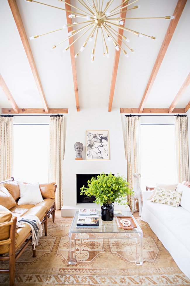 Five Free Ways to add art and beauty via Fieldstone Hill Design, branches, Domino Lauren Liess