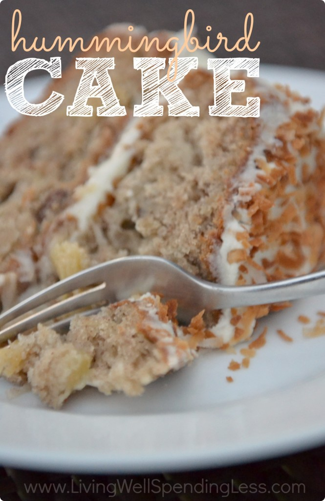 Hummingbird-Cake via Living Well Spending Less