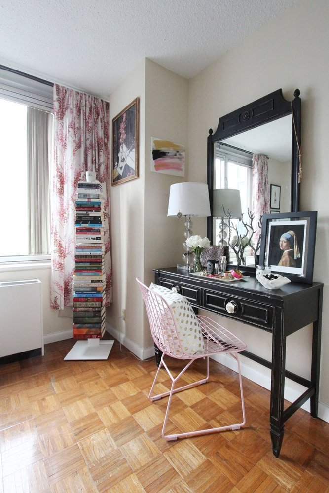client spaces - Jackie Clair NYC Studio Apartment feature