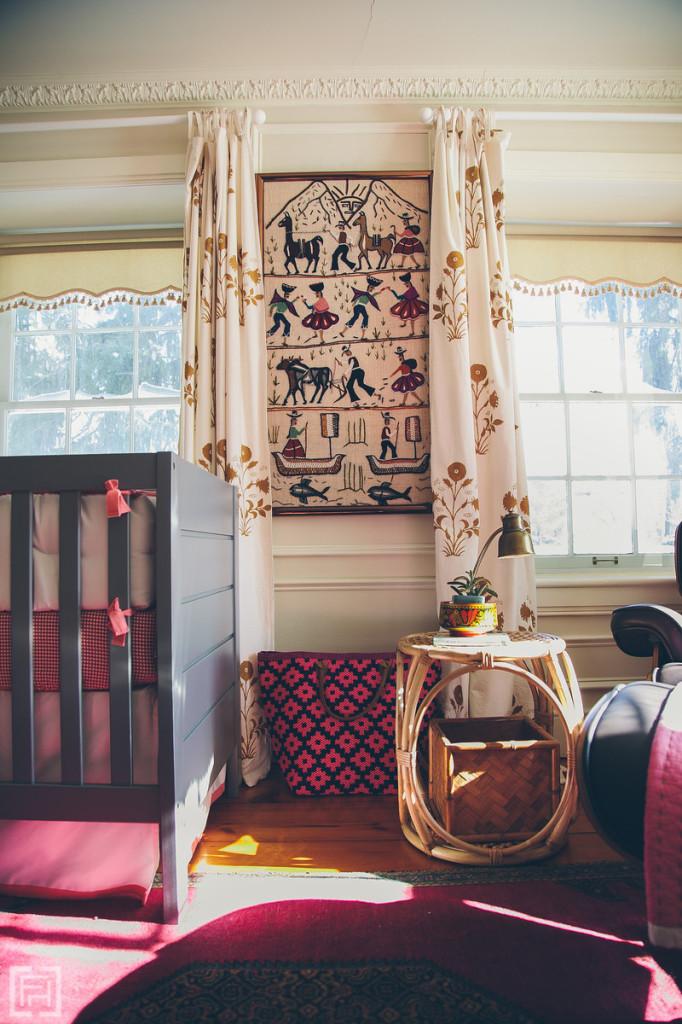 FHD nursery reveal, interior design by @fieldstonehill , art view