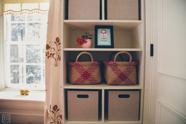 FHD nursery reveal, interior design by @fieldstonehill , baskets