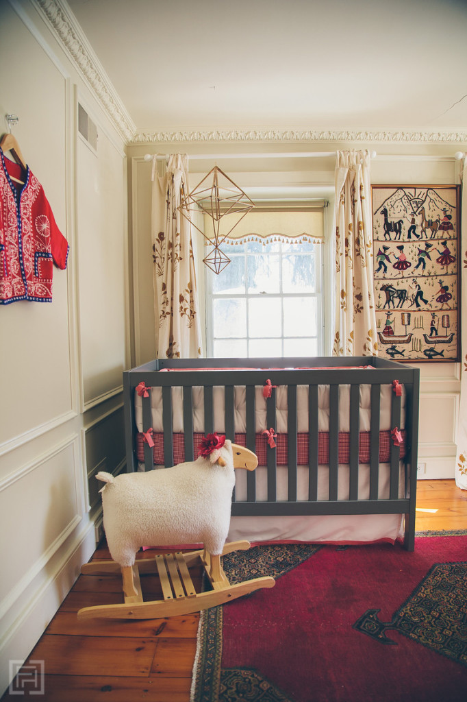 FHD nursery reveal, interior design by @fieldstonehill , crib view