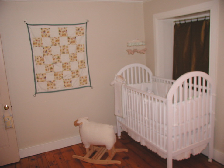 nursery reveal befores