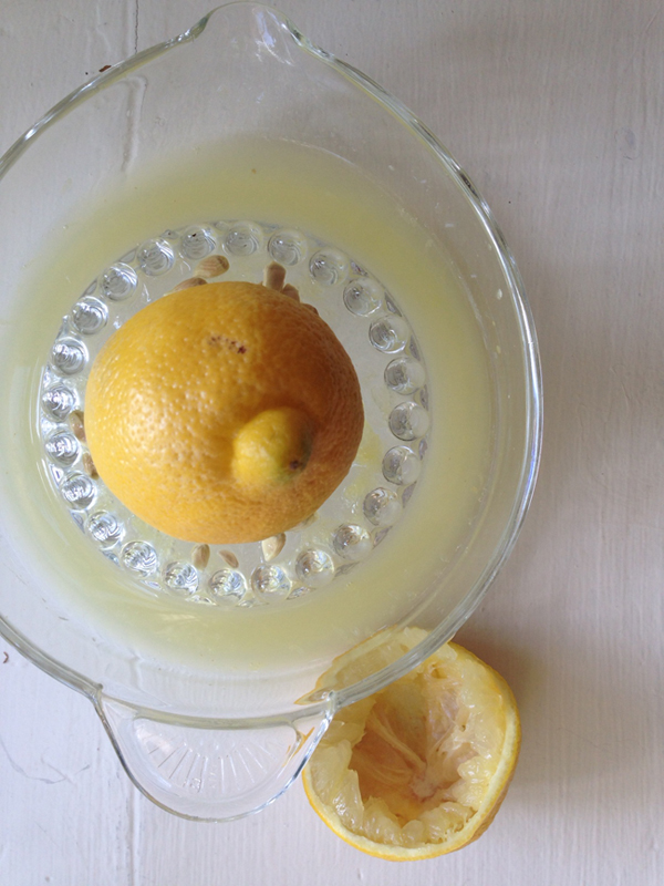 lavender lemonade squeezing the lemons via @fieldstonehill