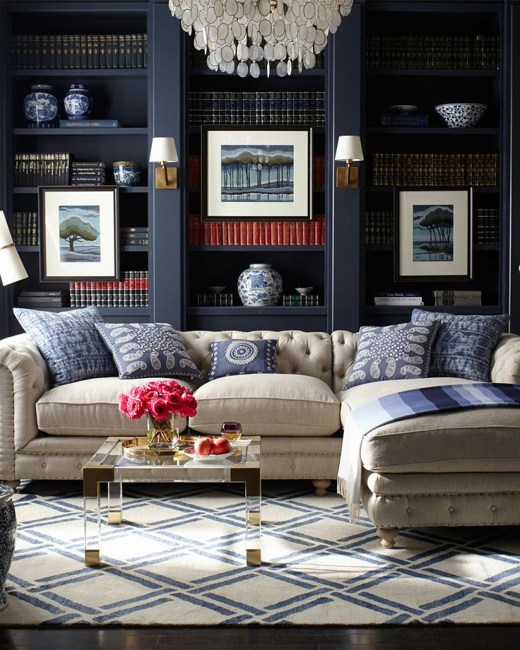 Living Room Library Design Ideas: Ditto: A Livable Library {shapable}